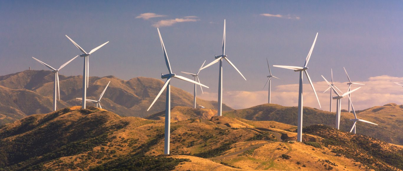 Photo of some wind turbines