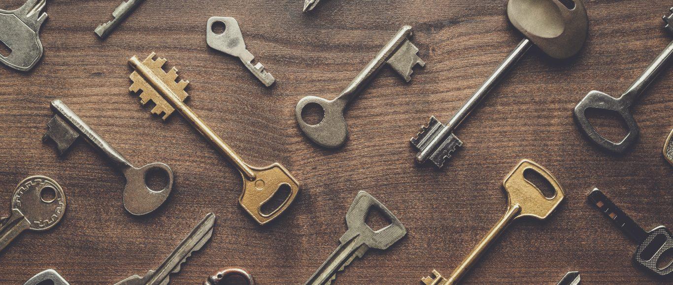 Photo of keys