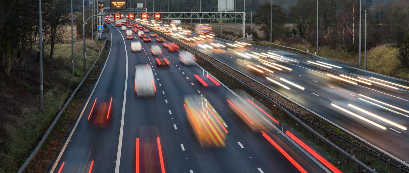 Photo of cars on a motorway
