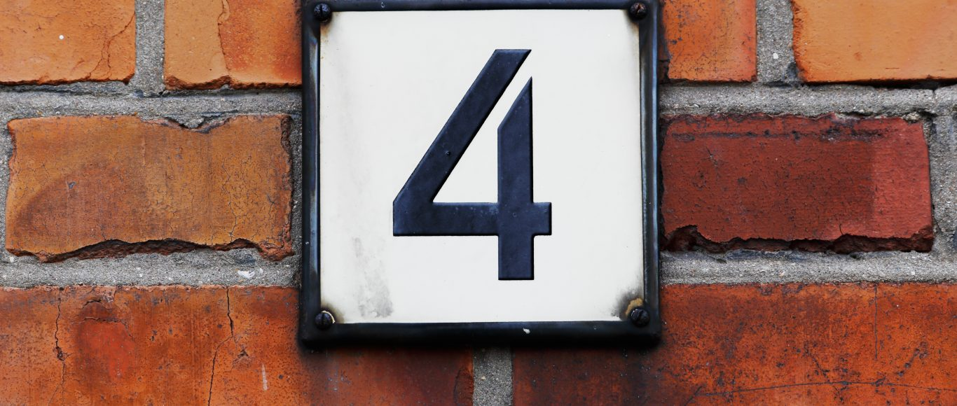Photo of the number 4