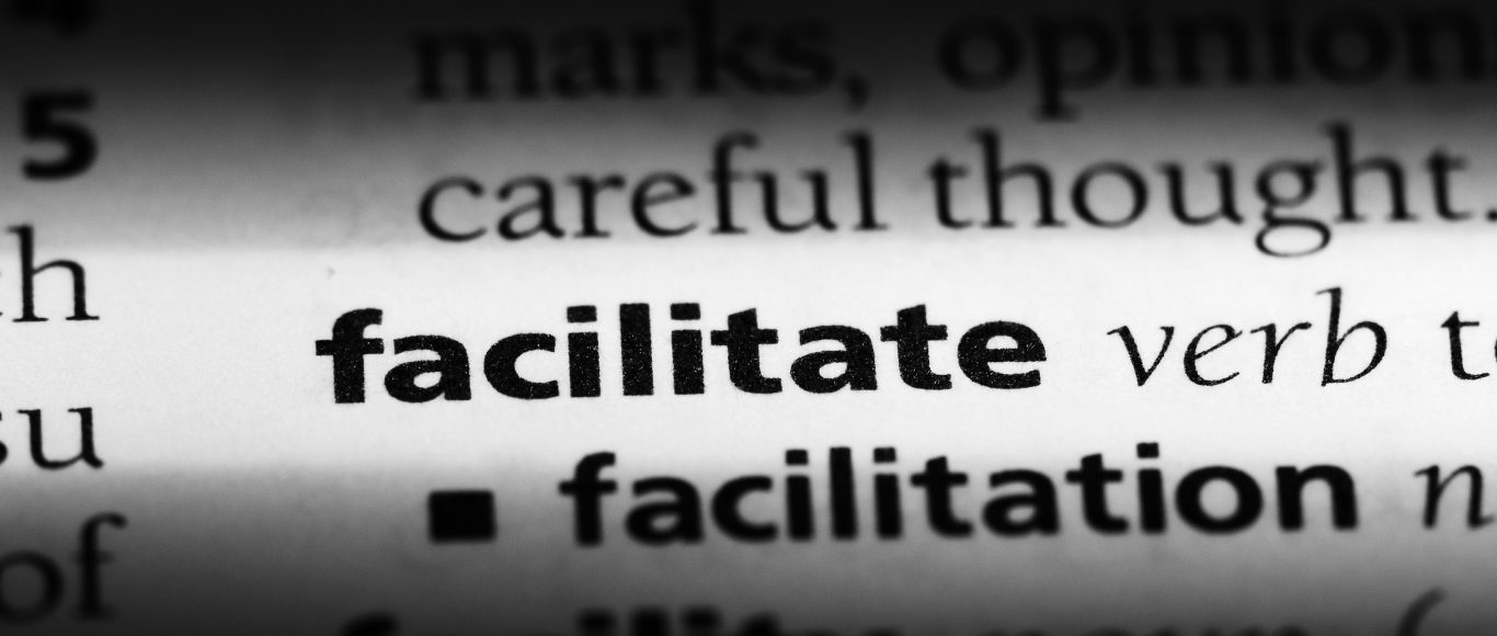 The word facilitate in a dictionary