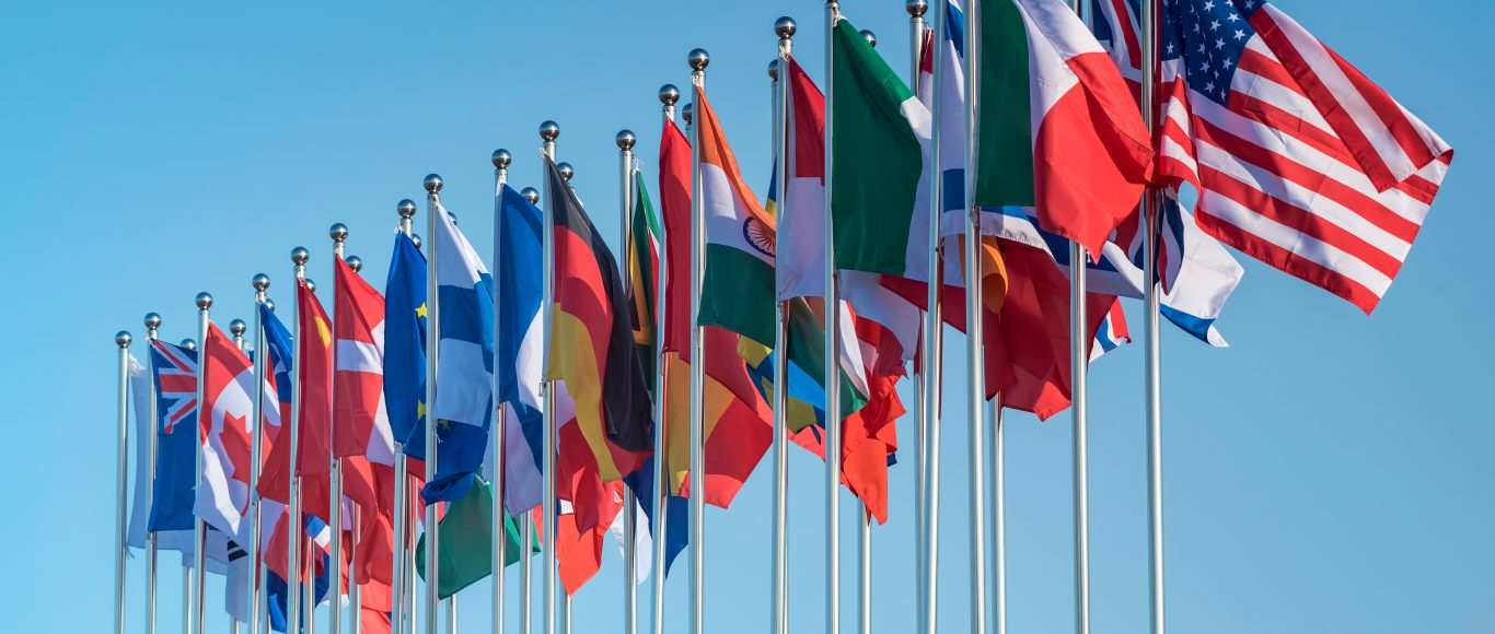 Photo of flags of different countries