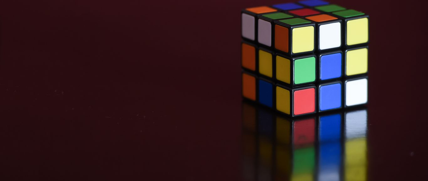 Photo of a Rubik's cube