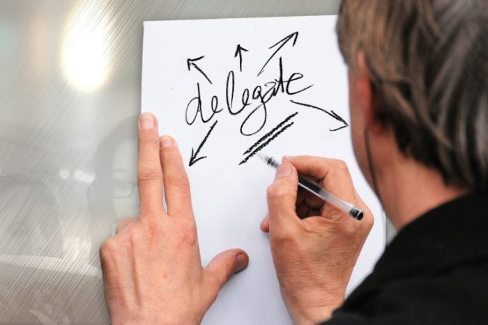 management: delegation skills