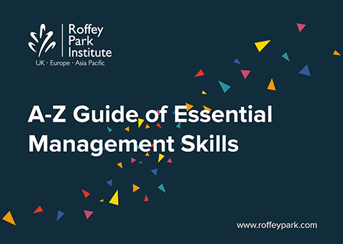 A-Z guide of essential management skills photo