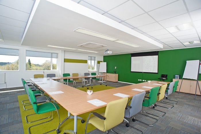 Photo of Roffey Park training room
