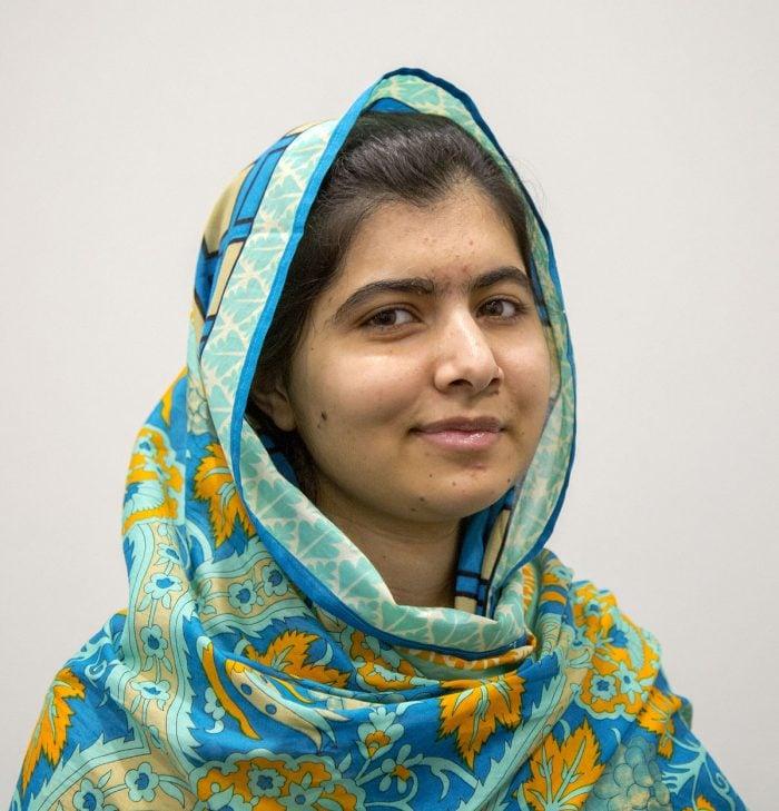 An image of Malala Yousafzai