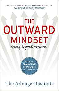 Photo of 'The Outward Mindset' book
