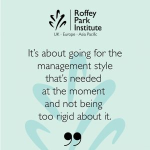 Roffey Park Quote