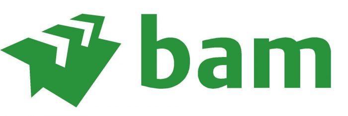 Photo of the 'bam' logo