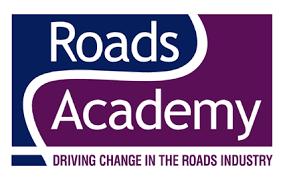 Photo of the 'Roads Academy' logo
