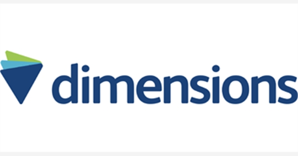 Photo of the 'dimensions' logo
