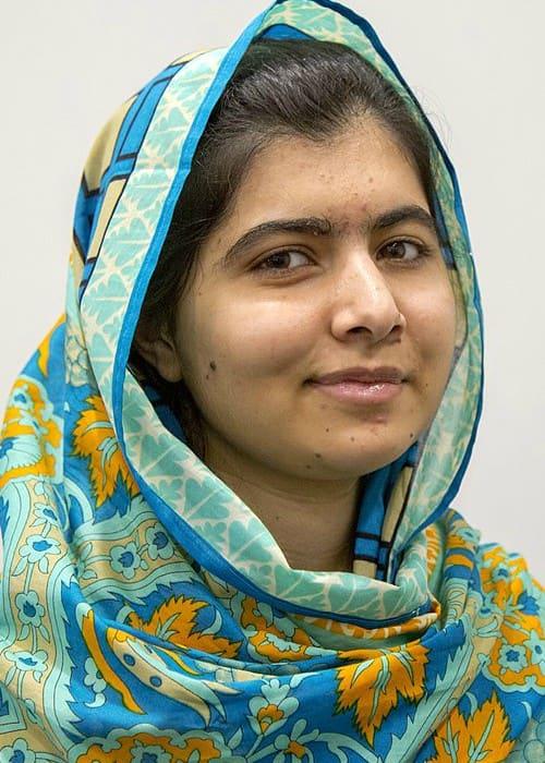 Photo of Malala Yousafzai