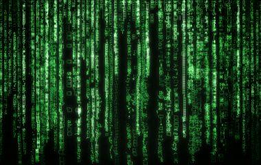 Photo of binary code