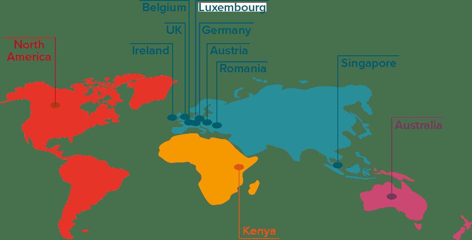 map of international coach locations