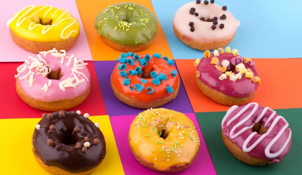Photo of a choice of doughnuts