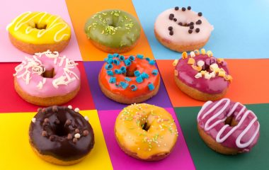 Photo of a choice of doughnuts